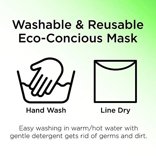 Adult Fashionable Germ Protection, Reusable Fabric Face Mask,