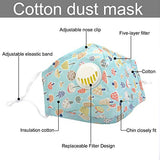Mouth Cover Adjustable Dust Proof Mask for Kids