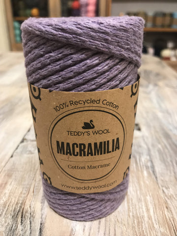 Macramilia Cotton Macrame - סגול