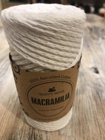 Macramilia Cotton Macrame - שמנת