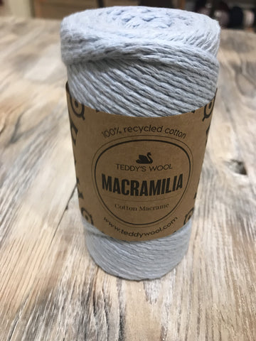Macramilia Cotton Macrame - תכלת
