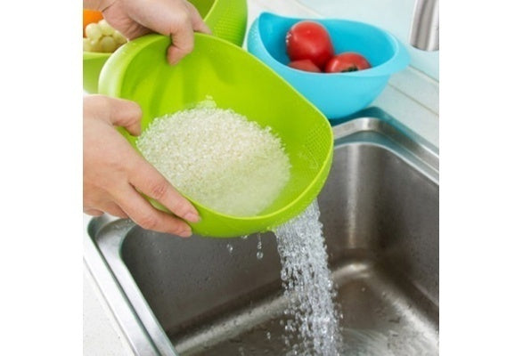Kitchen Clean Rice Washer Quinoa Strainer Kitchen Tools  Cleaning Veggie Fruit