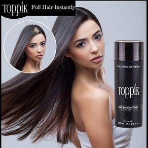 Addition Fiber Toppik For Quick Replenishment of Thinning Hair With Thin And Thin Baldness
