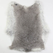 将图片加载到图库查看器,Rabbitfur skin cooked leather finished fur raw material 1PC