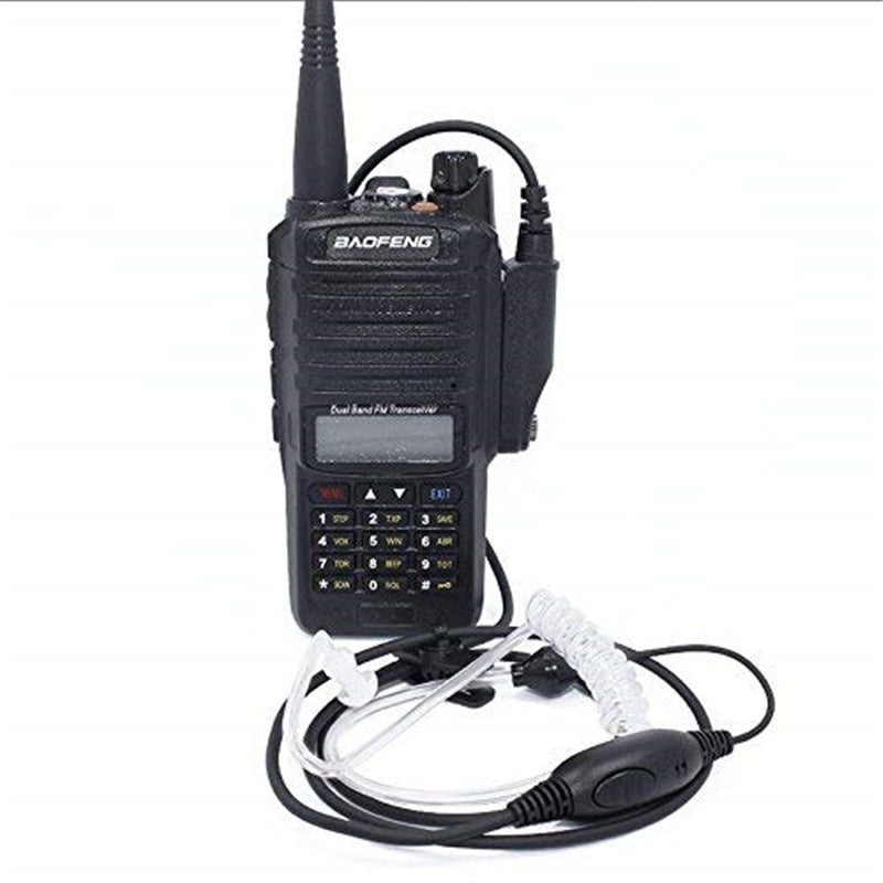 2PCS LCD Walkie Talkie Baofeng UV-9R Plus  VHF/UHF 136-174/400-520MHz  Dual-Dand FM Transceiver Handheld Two Way Radio with Accessories