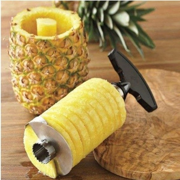 Stainless Steel Pineapple Peeler Cutter Slicer Corer Remover Kitchen Tools