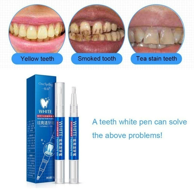 2019 NEW 1PCS Teeth Whitening Gel Pen Oral Care Remove Stains Tooth Cleaning Tool Whitener Teeth Whitening Oral Hygiene Pen