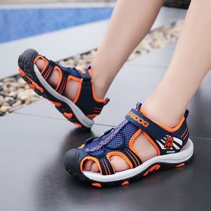 New Boys' and Girls' Summer Outdoor Beach Sports Closed-Toe Sandals Sport Sandals