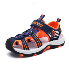 将图片加载到图库查看器,New Boys' and Girls' Summer Outdoor Beach Sports Closed-Toe Sandals Sport Sandals