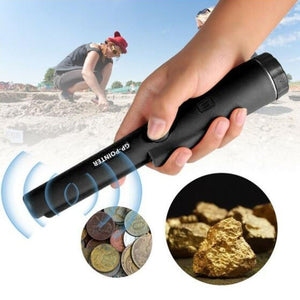 Metal Detector Automatic Pinpointing Water Resistant Pin Pointer Probe Handheld