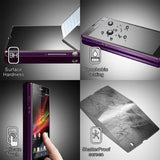5Pack 9H Premium Tempered Glass Screen Protector Film Protection Cover For Sony Xperia L1 / L2 / XZ / XZs / XZ Premium / XZ1 / XZ1 Compact / XZ2 / XZ2 Compact / XZ2 Premium / XZ3 / XA1 / XA1 Plus / XA1 Ultra / XA2 / XA2 Ultra / 1 / 10 / 10 Plus