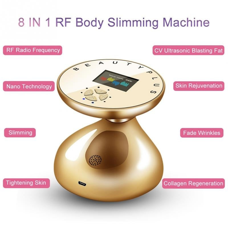 2019 HOT Sale AC 100-240V 24W R.F Body Slimming Beauty Machine Slimming Tightening Fat Remove Skin Lifting