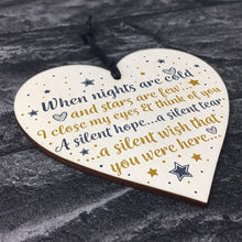 将图片加载到图库查看器,Party Decoration Plaque In Memory Mum Dad Nan Memorial Heart Bauble Gifts Wood Sign Crafts Party Decor