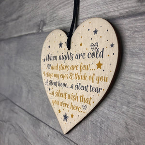 Party Decoration Plaque In Memory Mum Dad Nan Memorial Heart Bauble Gifts Wood Sign Crafts Party Decor