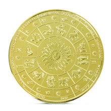 将图片加载到图库查看器,12 Constellations Commemorative Coins  Gold-plated commemorative coin  12 Constellations Medal