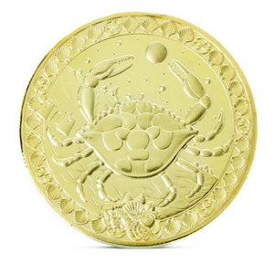12 Constellations Commemorative Coins  Gold-plated commemorative coin  12 Constellations Medal