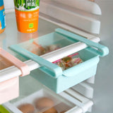 Table Useful Fridge Durable Kitchen Refrigerator Organizer Storage Rack Freezer Space Saver Shelf Holder