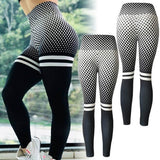 2019 Sexy Women Digital Printing Skinny Hip Yoga Pants High Waist Slim Fitness Gym Leggings Casual Sports Outdoor Jogging Pants