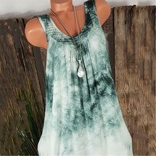 将图片加载到图库查看器,Summer Sleeveles Round Collar Loose Women Plus Size Tank Tops Blouse T Shirt Vest