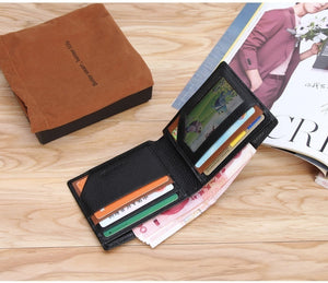 New Anti-lost Wallet Leather Smart Wallet Tracker Bluetooth Connection APP Anti-lost Anti-theft Self-timer Men's Wallet