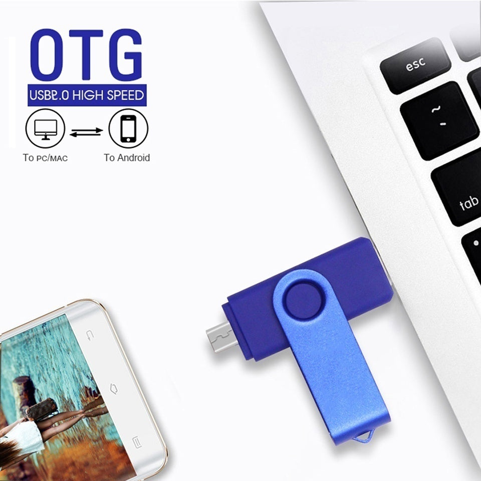 Real Capacity new OTG usb 2.0 64gb usb flash drive 32gb pen drive 8gb 16gb memoria cel usb stick pendrive u disk gift for mobile