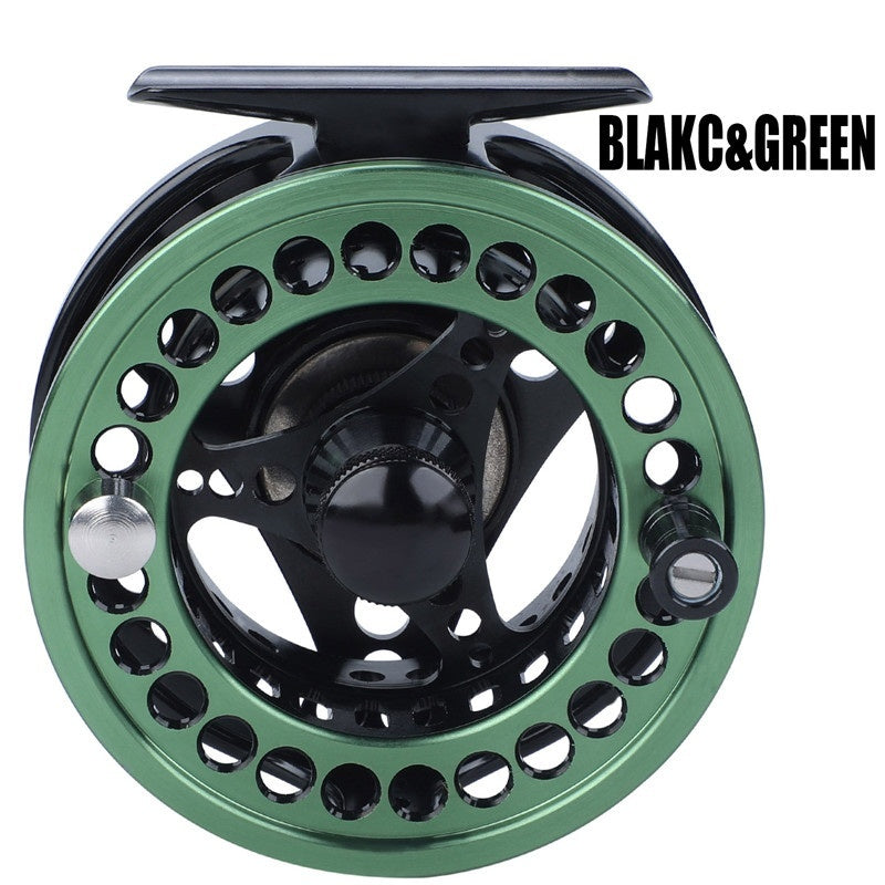 Fly Fishing Reel Aluminum Die Full Metal Casting CNC Fly Fishing Wheel 5/6 7/8