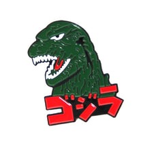 将图片加载到图库查看器,Godzilla Monsters Art Enamel Pins And Brooches Lapel Pin For Backpack Bags Hats Badge Clothing Decoration Gifts