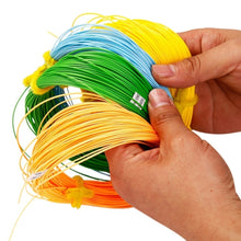 将图片加载到图库查看器,100FT Weight Forward Floating Fly Fishing Lines Orange Green Yellow Green
