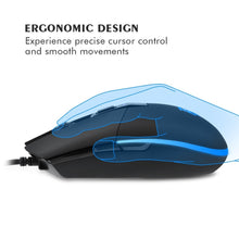 将图片加载到图库查看器,EasySMX PC Gaming Mouse 22 Preset Macros for PUBG RGB LED 5 DPI Settings
