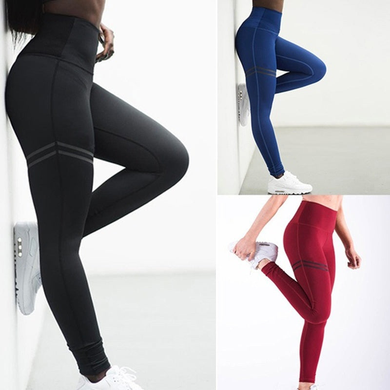 ZUIMAN Anti-Cellulite Compression Slim Leggings for Tummy Control and Running Women High Waist Pants wzlmC-190524027D38