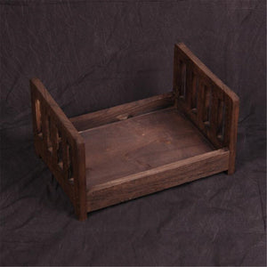4 Colors Photography Prop Cot Baby Photo Bed S Newborn Photographic Wooden Bed
