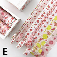 将图片加载到图库查看器,8 pcs/pack Bullet Journal Washi Tape Set Adhesive Tape DIY Scrapbooking Sticker Label Masking