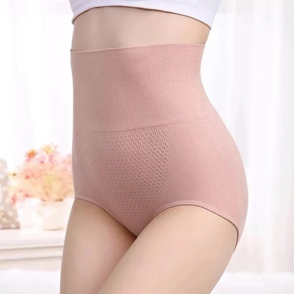 New Womens High Waist Tummy Control Body Shaper Briefs 360 Body Shaper Slimming ladies Waist Trainer Belly Control Underwear Waist and Hip Pants Underwear for Woman
