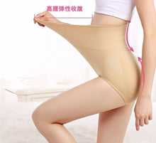 将图片加载到图库查看器,Women's Fashion High Slimming Shaping Panty Waist Trainer Breathable Underwear Pure Cotton Mention Hip Underpants