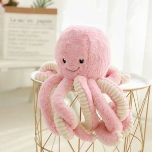 18cm Creative Cute Octopus Plush Toy Marine Stuffed Doll for Toddler Kids Loved Home Room Bed Decor