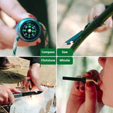 Multifunction Trekking Pole ,Trekking Pole Self-Defense Stick Multi-Function I Shape Car Tactical Stick Outdoor Products Folding Trekking Pole Hiking Selfdefense Stick Mountain Camping Supplies Set Trekking Pole Stick