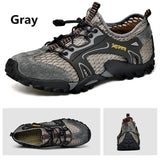 Fashion Men Water Shoes Outdoor Hiking Shoes Casual Breathable Shoes Mesh Shoes