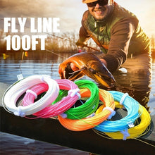 将图片加载到图库查看器,100FT Weight Forward Floating Fly Fishing Lines