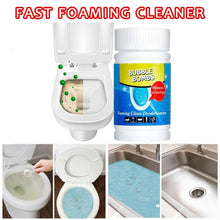 将图片加载到图库查看器,Fast Foaming Cleaner For Toilet Washing Machine Sink Pipeline Dredge Agent Magic Bubble Bombs Quality 1 Bottle 100g