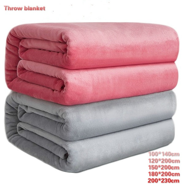 Fleece Blanket Throw Size  Lightweight Super Soft Cozy Luxury Bed Blanket Microfiber for couch /sofa