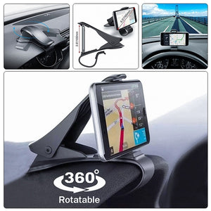 New Style Universal 360 Degree Rotatable Car Dashboard Cell Phone GPS Stand NonSlip Car Holder