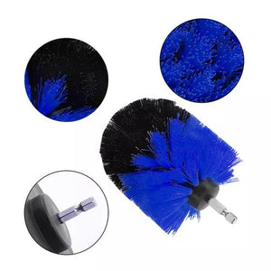 3pcs/set Electric Drill Brush Grout Power Scrubber Scrub Cleaning Brush (Drill not included)