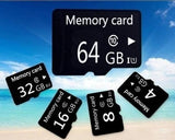 new  8GB 16GB 32GB 64GB  High Speed  MicroSD SD/TF Card Class10 Flash Memory + SD Card Reader + Adapter Reader