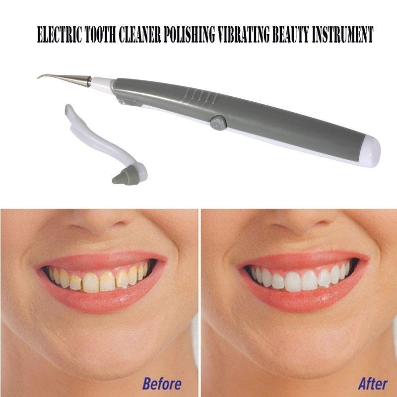 Electric Teeth Cleaner Electric Dental Calculus Remover Teeth Cleaning Tool   C8
