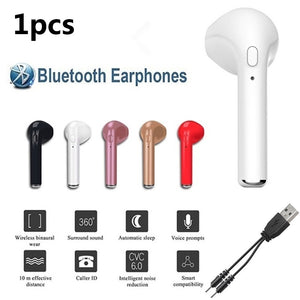 5 Colors New Wireless Earphone Stereo Earbud Headset for All Smart Phone Airpods Bluetooth Earphones Earphone Case