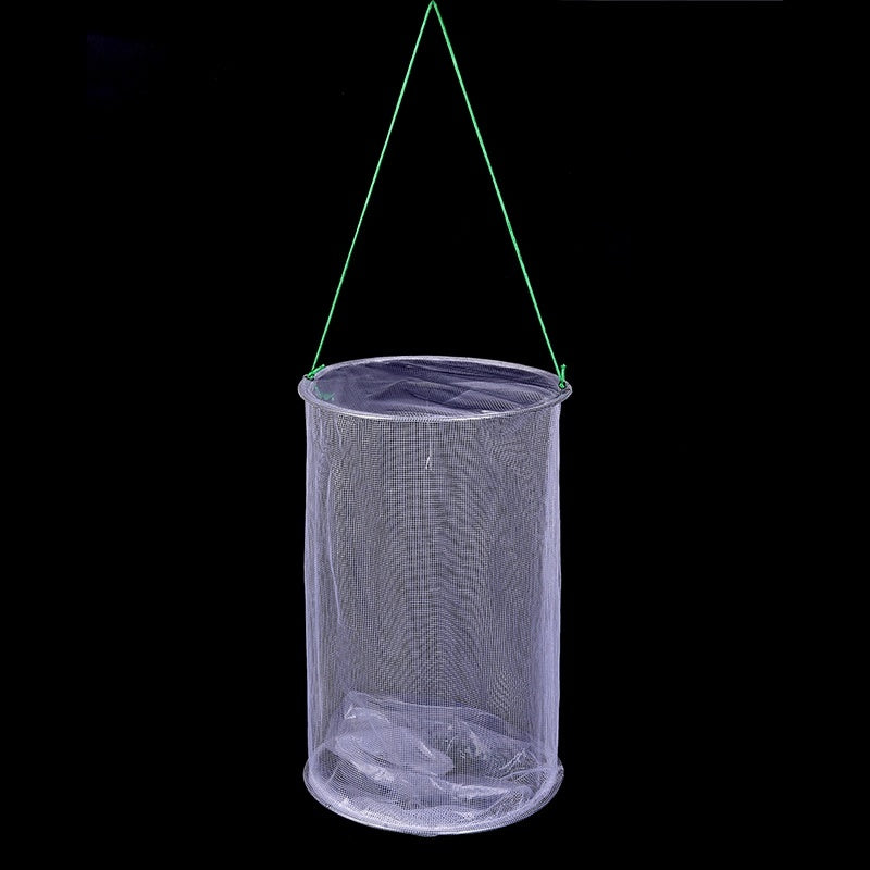 Pest Control Fly Insect Trap Reusable Hanging Folding Catcher Net Killer Cage
