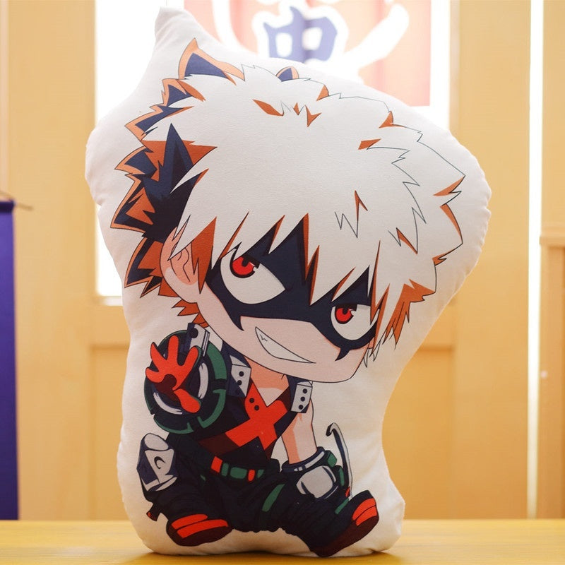My hero academia cosplay Plush Pillow Doll Midoriya Izuku Todoroki Shoto Bakugou Katsuki Asui Tsuyu OCHACO URARAKA Plush Pillow