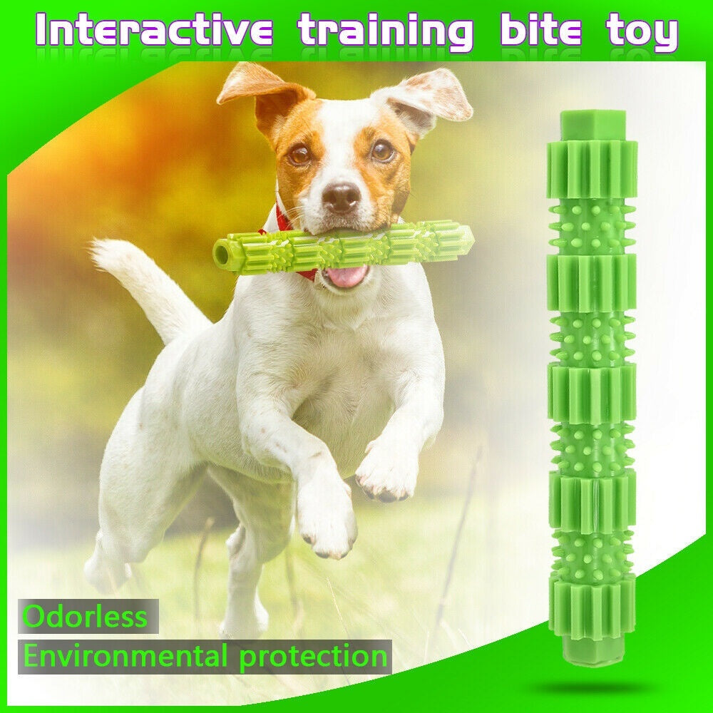 Novelty Chewers Rubber Pet Teeth Cleaning Dog Chew Toy Bite Toys Molar Stick