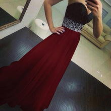将图片加载到图库查看器,Women's Long Sexy Slim Yarn Strapless Dresses Elegant Waist Controlled Sleeveless Evening Party Dress