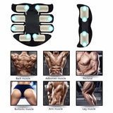 2020 Fashion EMS Abdominal Muscle Trainer Smart Body Building Fitness Abs